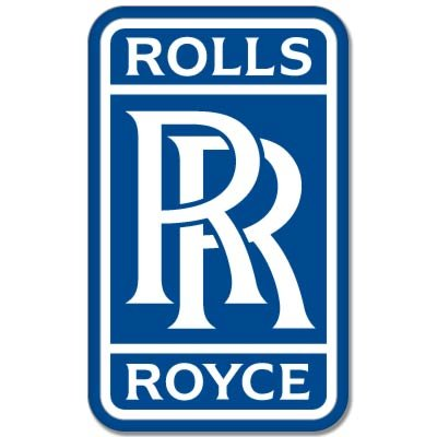 Rolls Royce Truck (Rolls-Royce British car styling emblem Vynil Car Sticker Decal - Select Size)