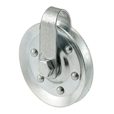Prime-Line Products GD 52189 Pulley with 2 Straps and Axle Bolts, 3-Inch Diameter,(Pack of 2)