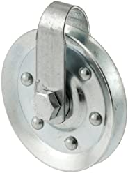 Prime-Line Products GD 52189 Pulley with 2 Straps and Axle Bolts, 3-Inch Diameter
