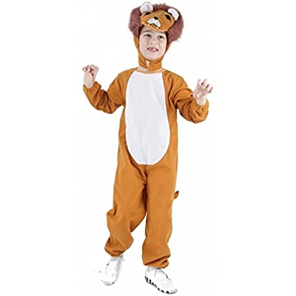 Disfraz de león para niño o niña