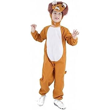 Disfraz de león para niño o niña: Amazon.es: Juguetes y juegos