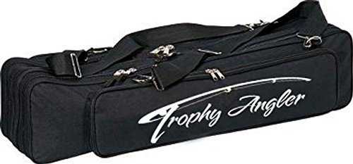 Trophy Angler Ice Deluxe 12 Rod Ice Fishing Bag (Ice Fishing Trap Holder)