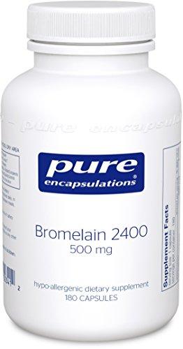 Pure Encapsulations Bromelain Hypoallergenic Supplement