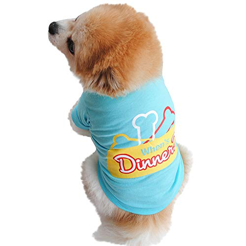 Pet Clothes,Cotton Summer Shirt Small Dog Cat Pet Clothes Vest T Shirt Leopard Print T-Shirt Puppy Cat Cotton Vest Clothing Apparel Spring Summer Breathable Sleeveless Harness