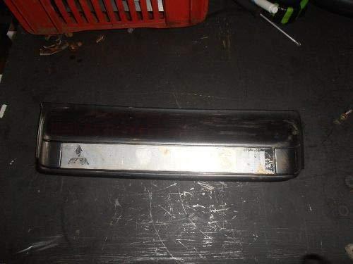 Moldura Luz Placa Pajero Gls-b 99