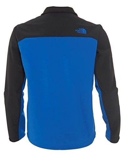 The North Face Mens Apex Bionic Jacket, Monster Blue/TNF Black, Medium