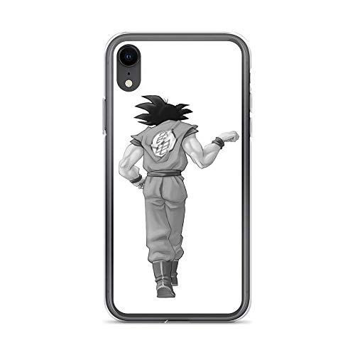 iPhone XR Pure Clear Case Cases Cover Goku, Best Friend (to Buy in Combo with Vegeta, Best Friend)