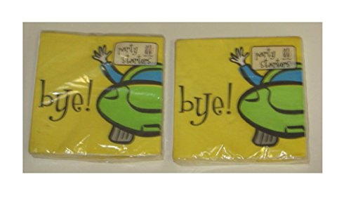 BYE Going Away Beverage Napkins~ 2 Packages
