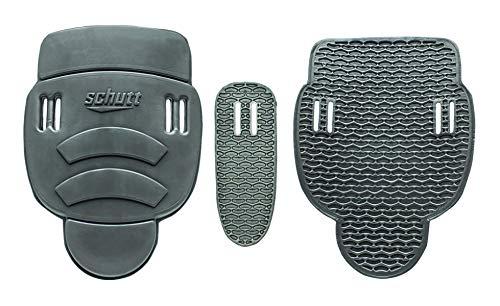 Schutt Varsity Slotted 3-Piece Hip Pad Set, Black, Varsity (3 Piece Football Hip Pads)