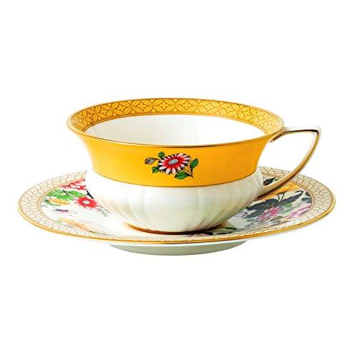 wonderlust primrose teacup saucer set
