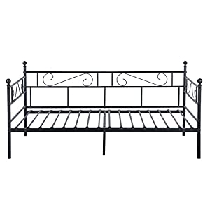 GreenForest Metal Frame Daybed,Twin