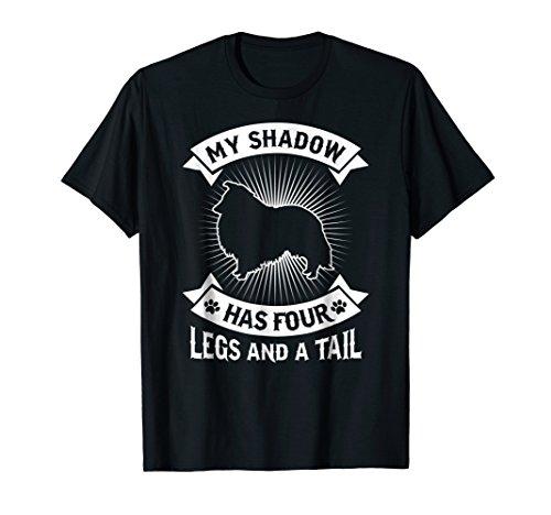 (Shadow Has 4 Legs Tail Shetland Sheepdog Sheltie Dog)