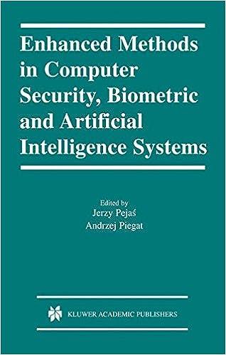 Det er gratis at downloade bøger Enhanced Methods in Computer Security, Biometric and Artificial Intelligence Systems PDF CHM ePub 1402077769