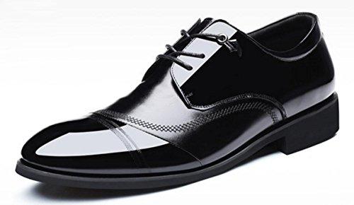 Vache Chaussures Fêtes Chaussures Business Men's À Pour Habillées Hommes Natural CYGG De Oxford Peau De Mariage La De Chaussures Chaussures Main New qwfB7