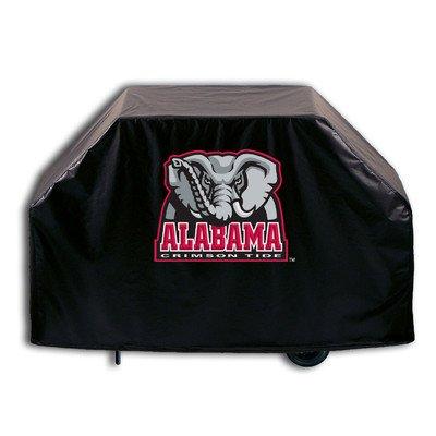 "NCAA Grill Cover Size: 36"" H x 60"" W x 21"" D, NCAA Team: Alabama Crimson Tide with Elephant"