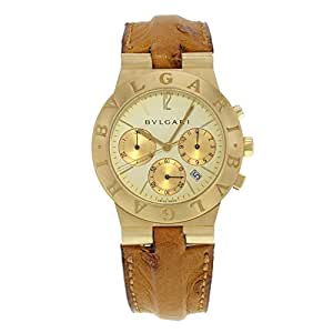 Bvlgari Diagono Chrono automatic-self-wind mens Watch CH 35 SG (Certified Pre-owned)