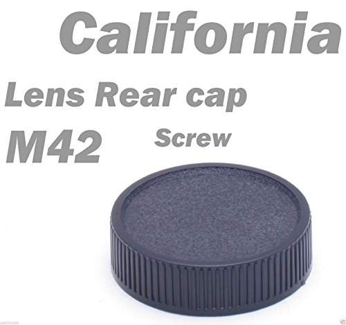 M42 42mm Screw Lens Rear Cover Cap for Praktica Zenit Pentax Mount back Pentax M42 Screw Mount
