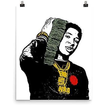 Amazon Com Get Motivation Nba Youngboy Rapper Poster 12 X 18 Inch