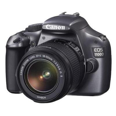 Canon EOS 1100D (Grey) Digital SLR Camera w/ EF-S 18-55mm f/3.5-5.6 IS II Lens For Sale