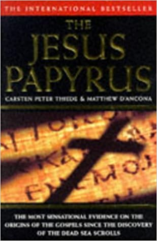 Book The Jesus Papyrus by Matthew D'Ancona (1997-03-03)