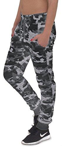 REDRUM - Pantalón - para mujer Camo Schwarz
