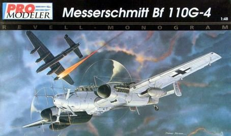 Revell Messerschmitt Bf 110G-4 1:48 Scale Military, used for sale  Delivered anywhere in USA