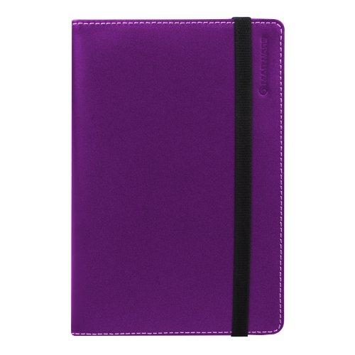 Marware Eco-Vue Leather Kindle Folio, Purple (Fits Kindle Keyboard) Eco Conscious Leather Folio
