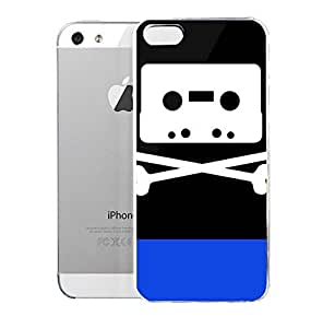 Light weight with strong PC plastic case for iPhone iphone 5s Lifestyle Music Mixtape Bones