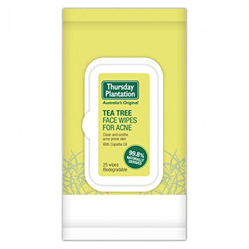 Thursday Plantation - Tea Tree Face Wipes for Ance (25 Wipes)