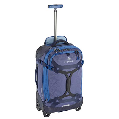 Eagle Creek Gear Warrior International Carry Luggage Softside 2-Wheel Rolling Suitcase, Arctic Blue