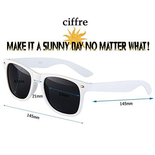 wayfarer style coloris paire modèles différents style style disponibles de soleil clear weiß env de et aviateur 80 lunettes vintage NRW Nerd lunettes wPUqZX5xaZ