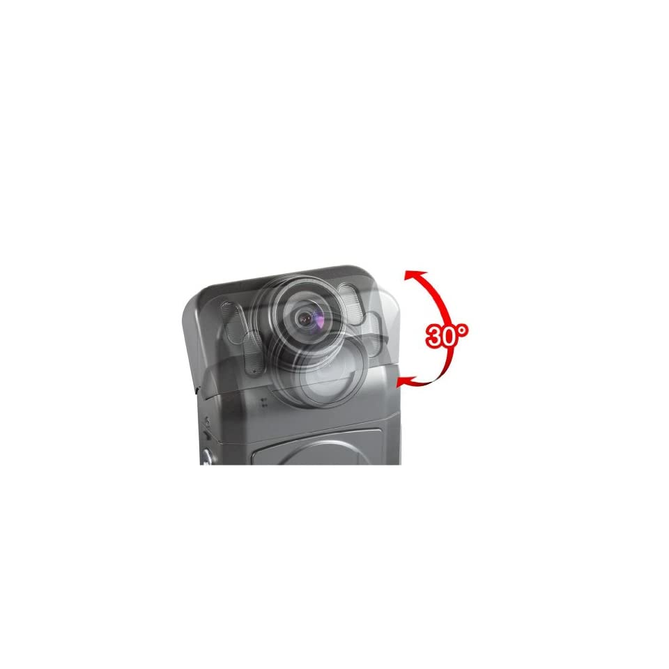 TechExcel(TM) 1080P High Definition Car Camera with LCD, LED LIGHTS, HDMI OUTPUT, CYCLE RECORDING.
