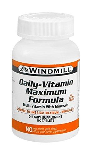 Windmill Daily Vitamin 100 Tablets - 2