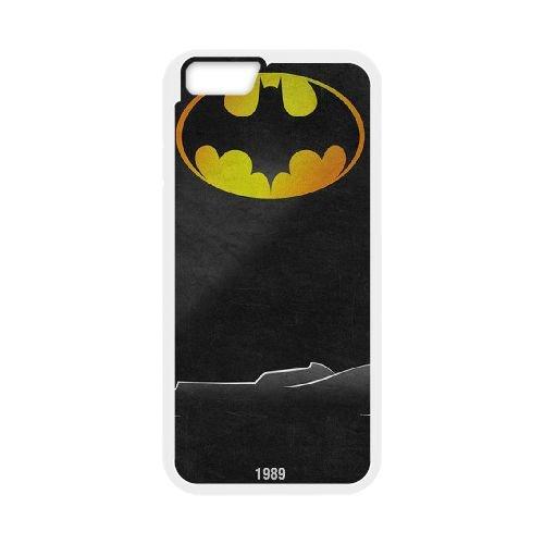 Batman Batmobile coque iPhone 6 4.7 Inch Housse Blanc téléphone portable couverture de cas coque EBDOBCKCO09580