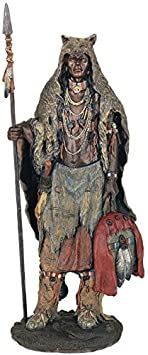 StealStreet SS-G-11356 Native American Warrior Collectible Indian Decoration Figurine Statue