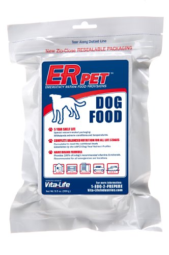 ER Emergency Ration Dry Dog Food for Survival Kits and Disaster Preparedness, My Pet Supplies