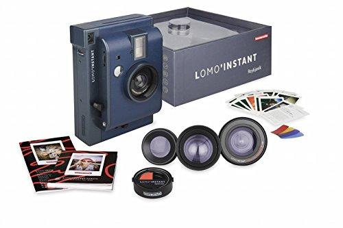Lomography Lomo'Instant Reykjavik + 3 Lenses - Instant Film Camera by Lomography