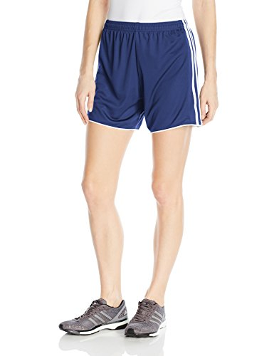 adidas Women's Soccer Tastigo 17 Shorts, Dark Blue/Core Pink, X-Large