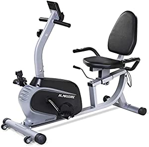 MaxKare Recumbent Exercise Bike Indoor Cycling