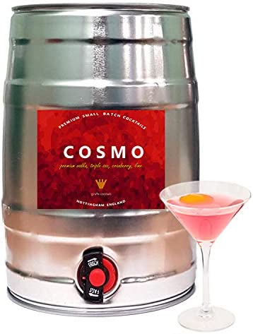 Cosmopolitan 5l Self Tapped Cocktail Keg Amazon Co Uk Beer Wine Spirits