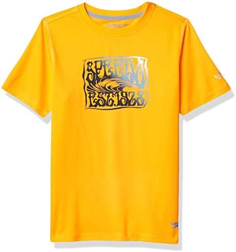 Boys sharkamo Boom Short Sleeve Swim Teeシャツ