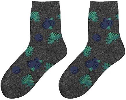 Scrox 1 Pares Calcetines Mujer Invierno Sock Creativo Patrón de Flamenco Unisex Algodón Moda Casual Otoño Original Piso Calcetines (A): Amazon.es: Hogar