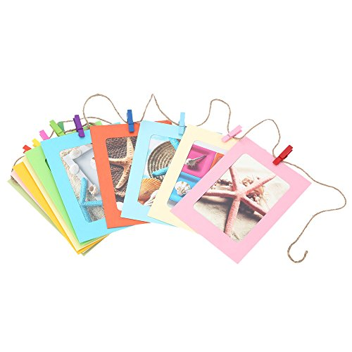 Docooler10pcs Hanging Colorful Picture Clothespins product image