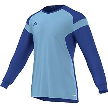 Adidas Precio 14 - Camiseta de Portero de fútbol de Manga Larga para jóvenes, Color - Blue - Light Blue, tamaño 116: Amazon.es: Deportes y aire libre