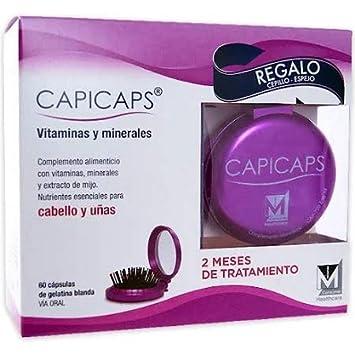 CAPICAPS 60 CAPSULAS + Peine Regalo: Amazon.es: Salud y cuidado personal