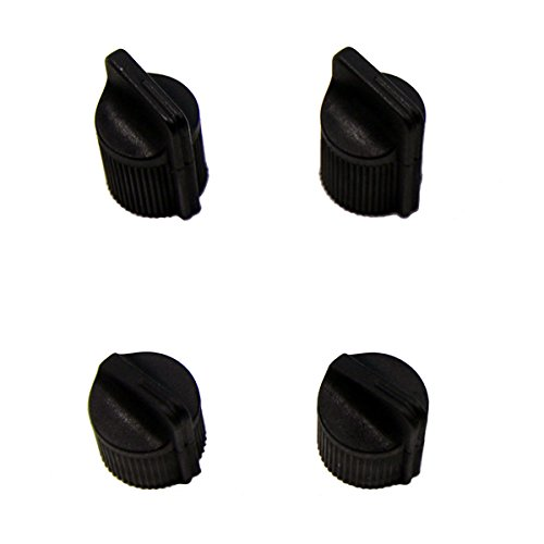 2 X SUNDELY Chunky Volume Knob Caps + Channel Selector Knob Caps for Motorola Radios Saber I IE II III (NOT for Astro Saber)