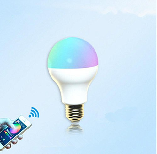 Aluminum Alloy Wifi Control Led Bulb Pvc Smart Home Phone Control Blister Lights Colorful Lights by DMMSS