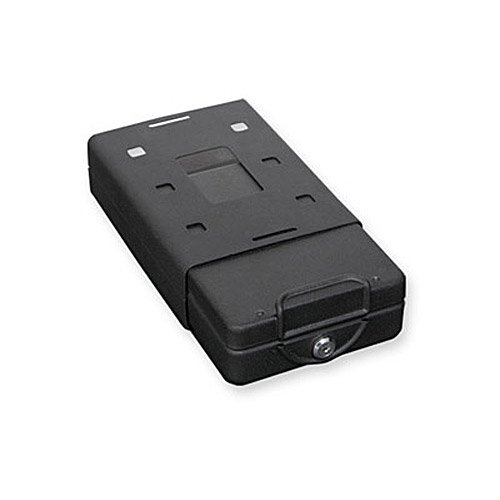 Bulldog Cases Car Safe with Key Lock, Mounting Bracket and Cable in Black by Bulldog Cases