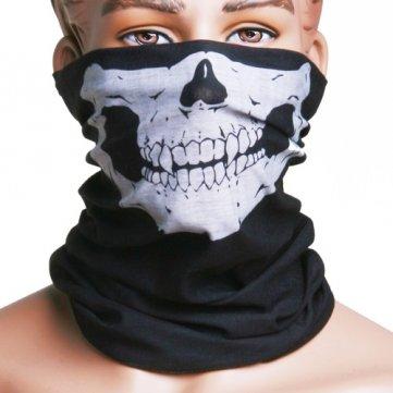 Motorcycle Skull Mask / Wear Headgear Neck Warmer Cycling...