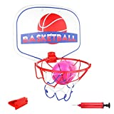 Akokie Basketball Hoop Mini Basketball Net Indoor with Ball and Pump for Kids Girls Boys 3 4 5 6 Years Old